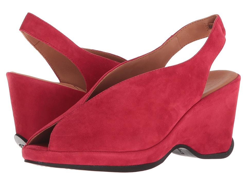 L'Amour Des Pieds Odetta (Bright Red Kid) Sandals