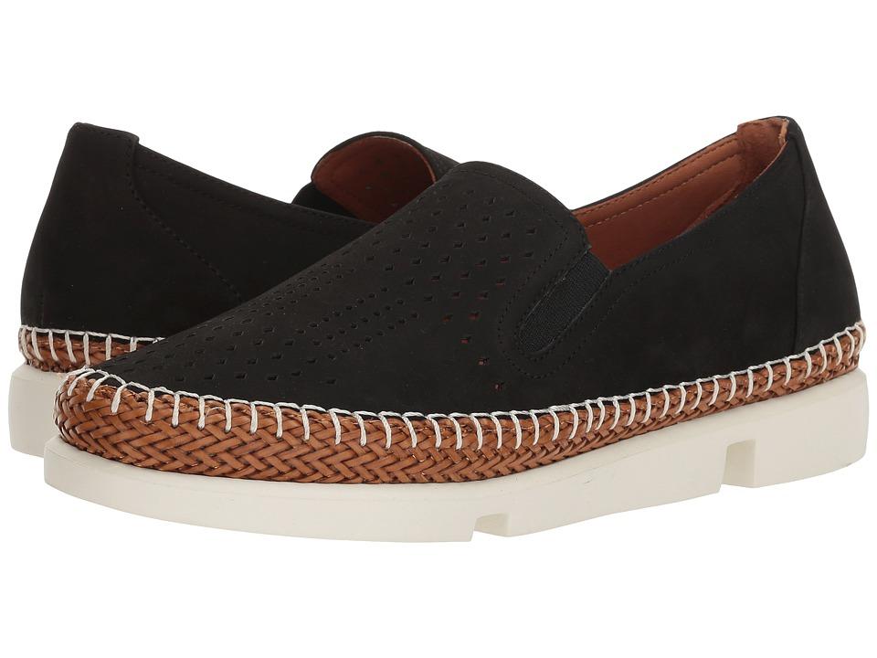 L'Amour Des Pieds Stazzema (Black Nubuck) Sandals