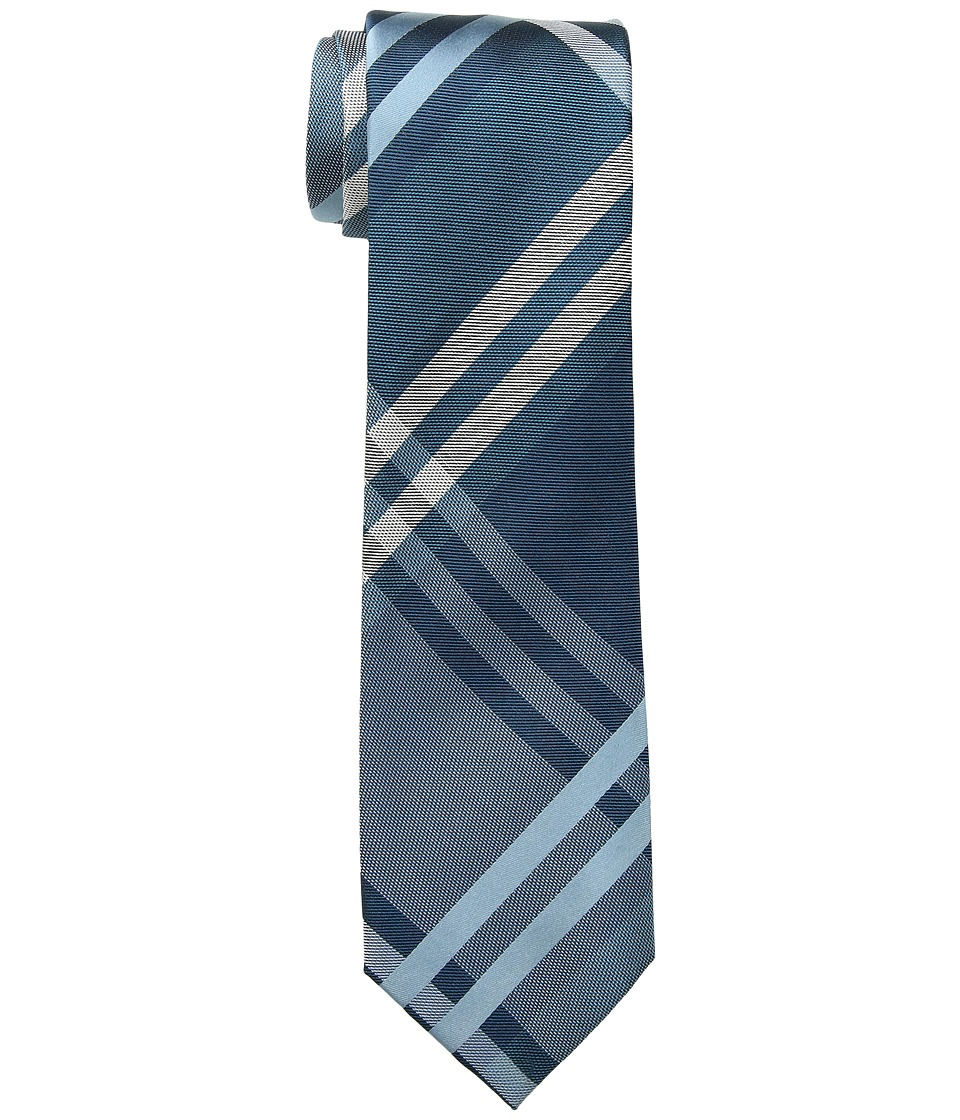 Kenneth Cole Reaction - Duo Plaid (Teal) Ties