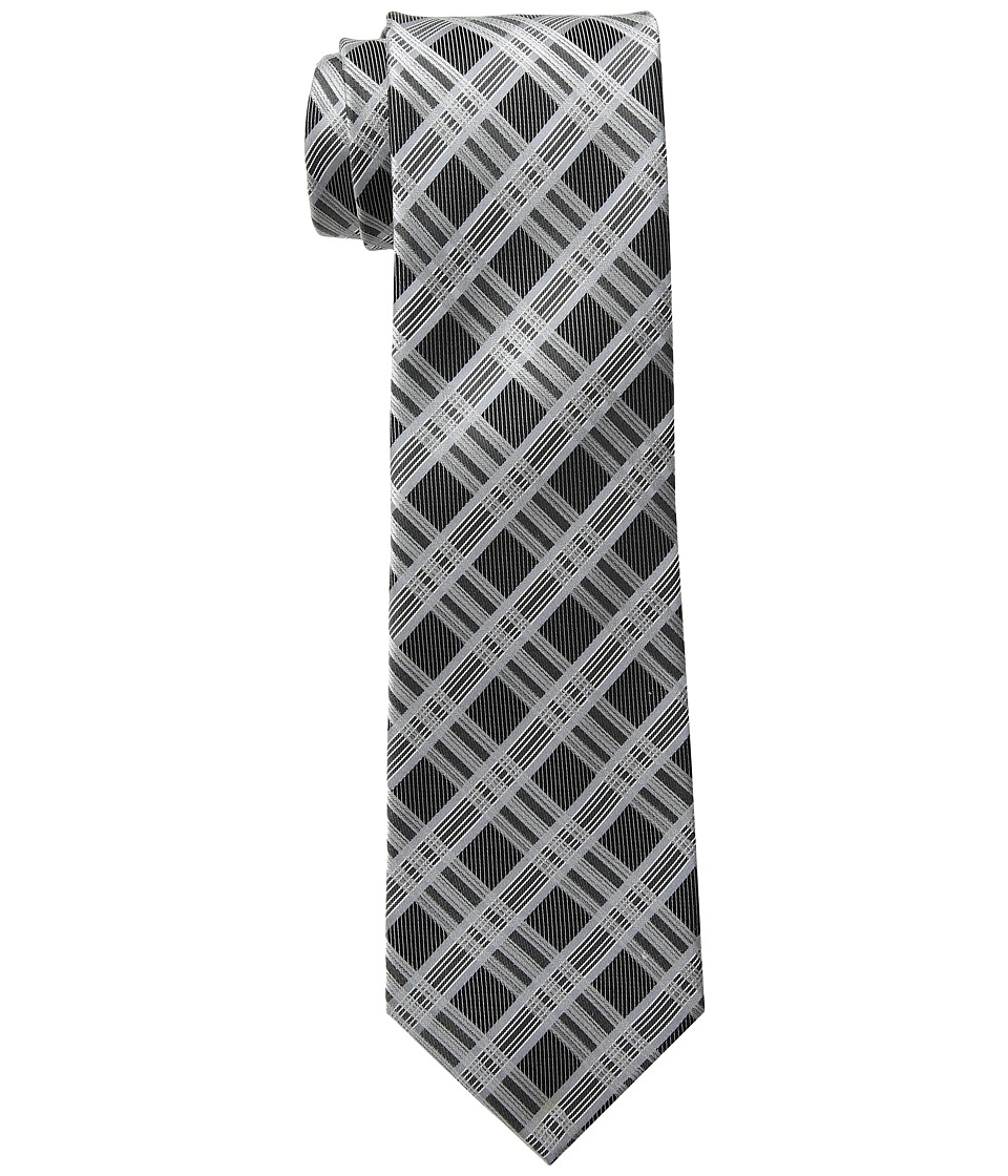 Kenneth Cole Reaction - Jonathan Plaid (Black) Ties