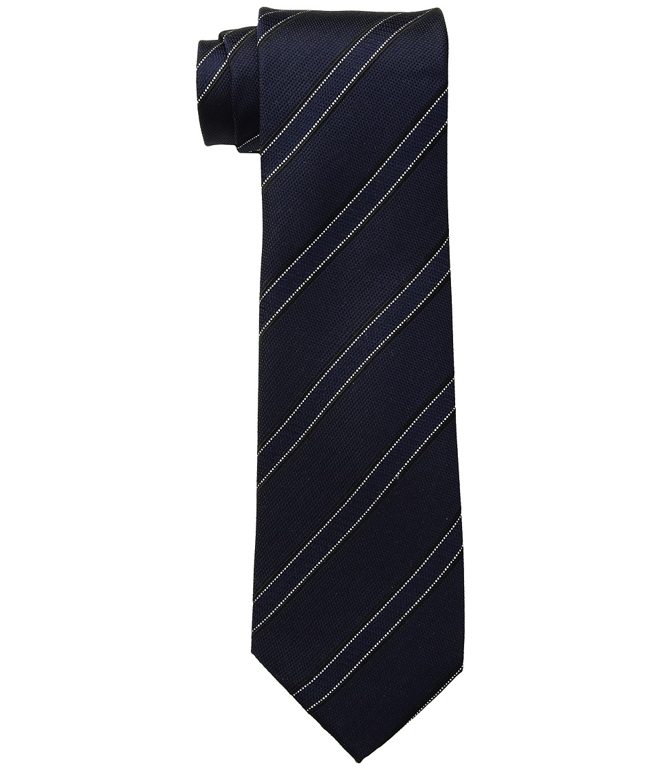 Kenneth Cole Reaction - Classic Stripe (Midnight) Ties
