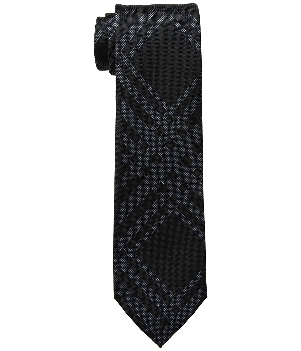 Kenneth Cole Reaction - Texture Grid (Black) Ties