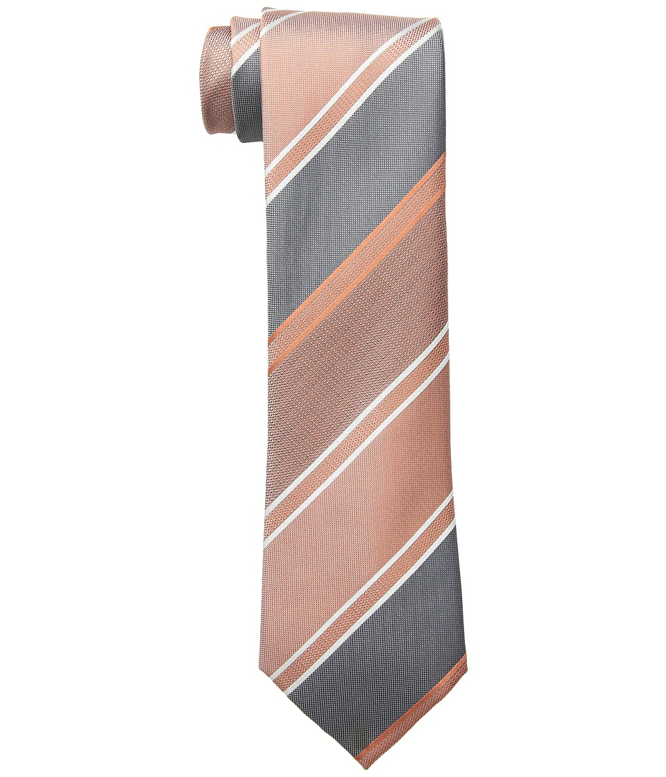 Kenneth Cole Reaction - Oversize Stripe (Melon) Ties