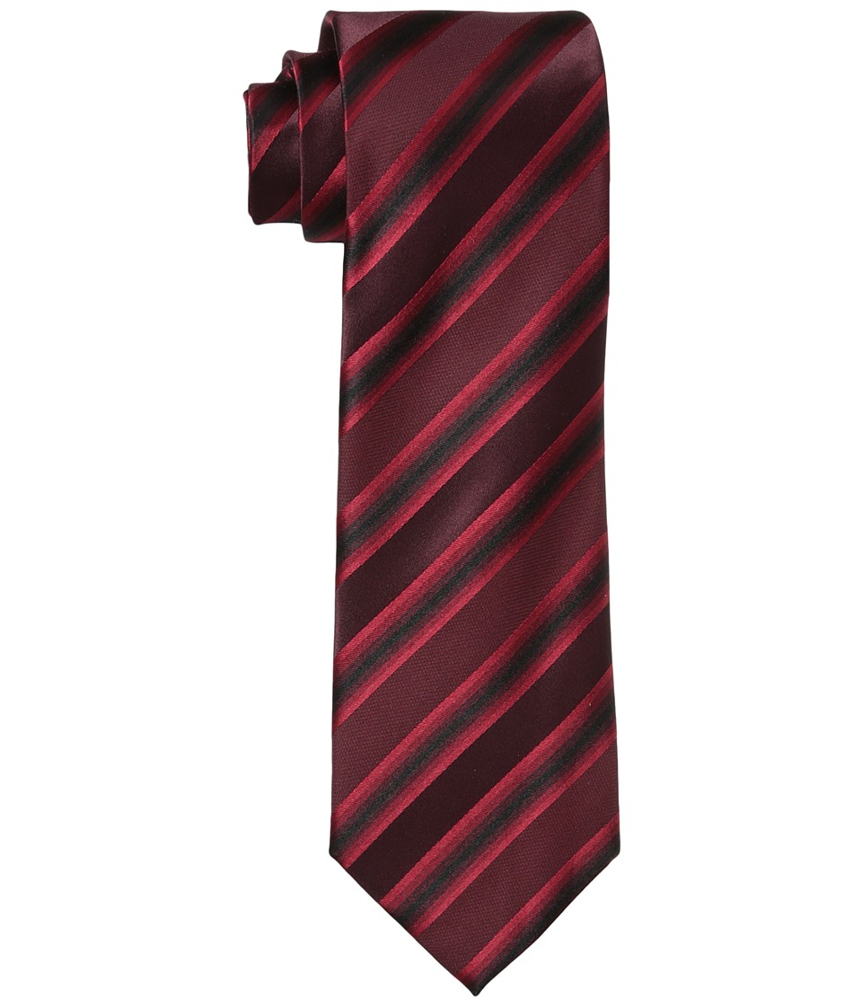 Kenneth Cole Reaction - Tony Stripe (Red) Ties