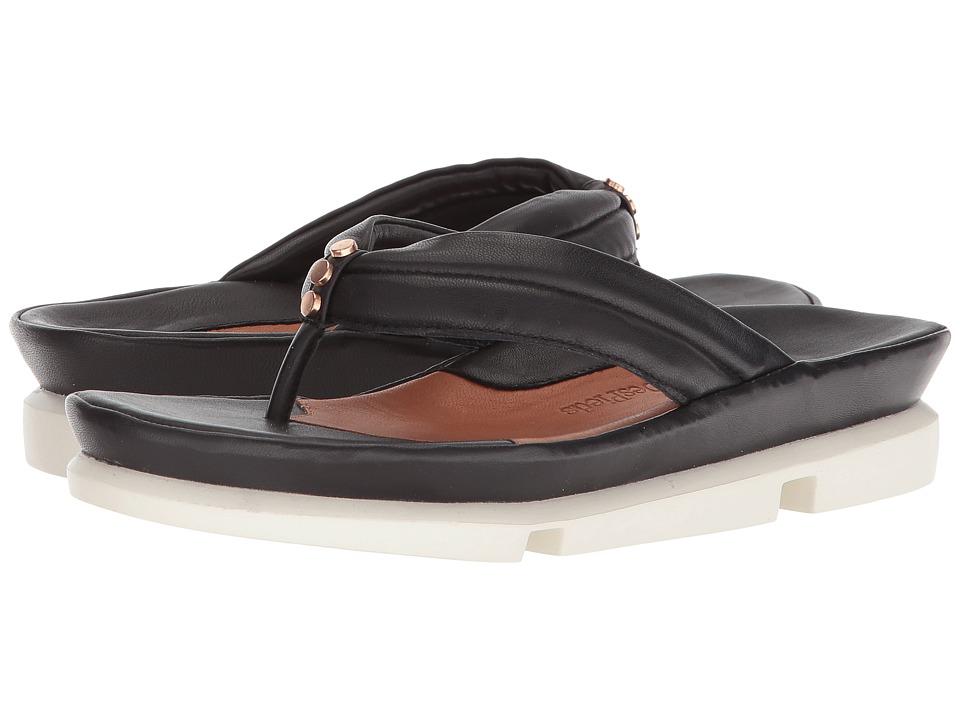 L'Amour Des Pieds Villapapaver (Black Nappa) Sandals