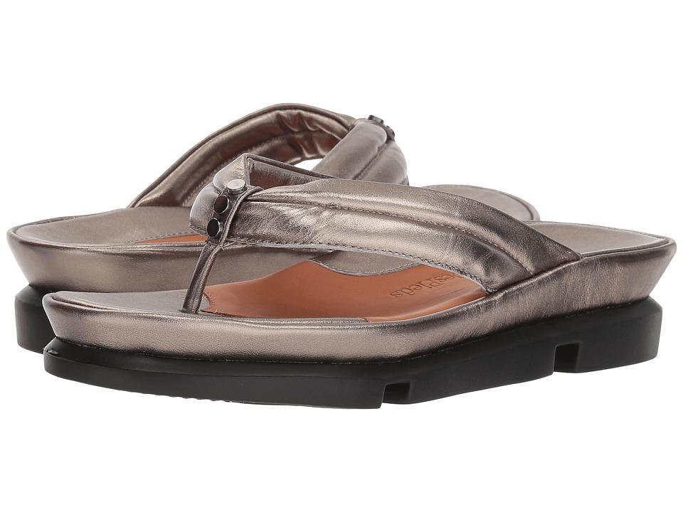 L'Amour Des Pieds Villapapaver (Pewter Metallic Nappa) Sandals