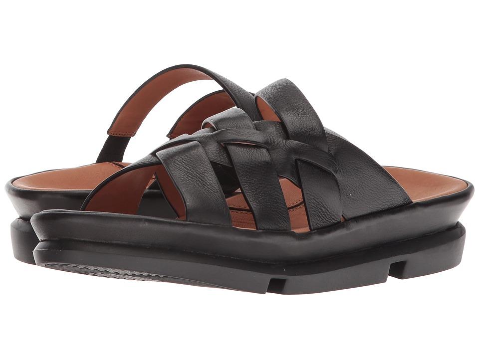 L'Amour Des Pieds Veryl (Black Lamba) Sandals
