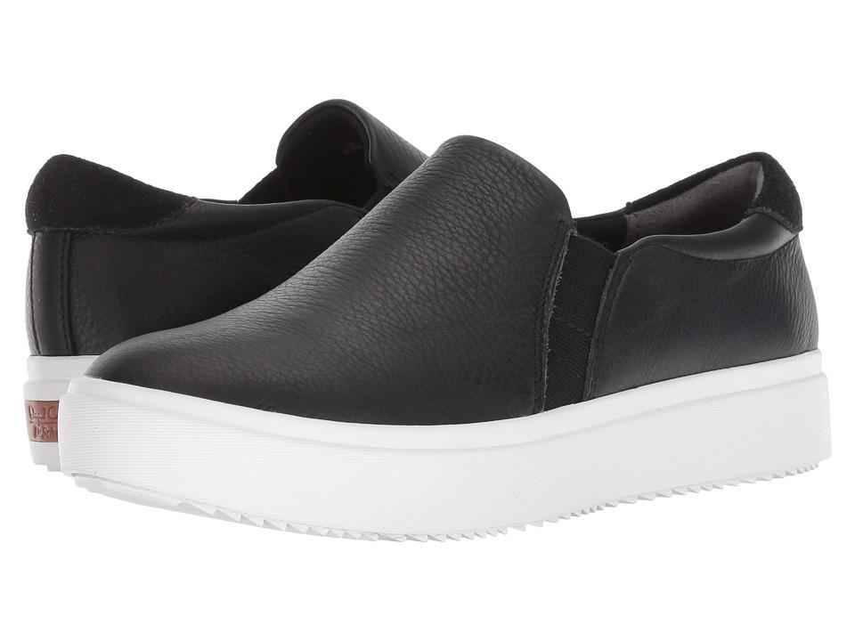 Dr. Scholl's Leta - Original Collection (Black Leather) Women's Shoes