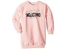 Moschino Kids Moschino Kids Long Sleeve Star Logo Graphic Dress (Little Kids/Big Kids)