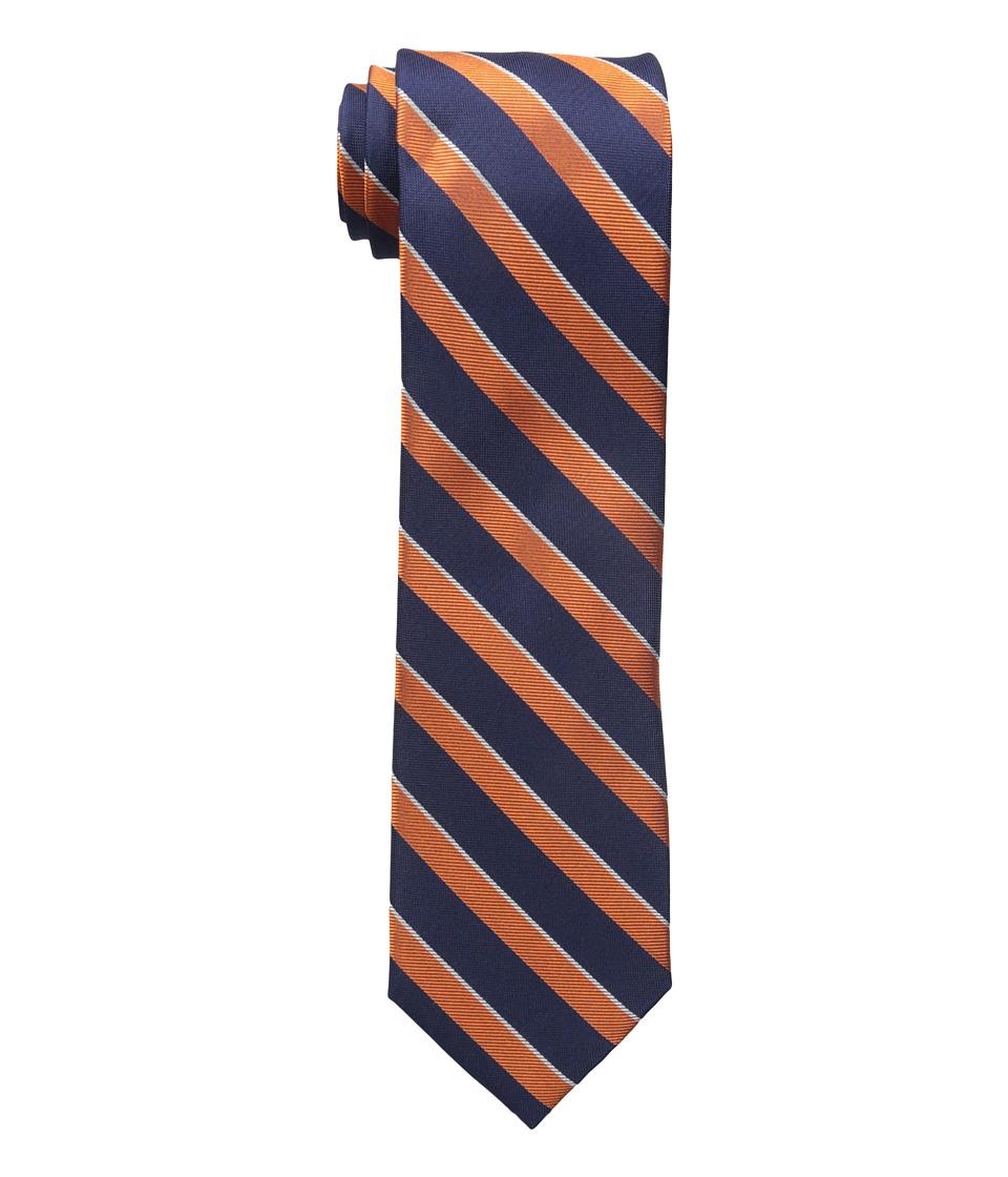 Tommy Hilfiger - Twill Stripe (Orange) Ties