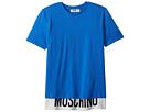 Moschino Kids Moschino Kids Short Sleeve T-Shirt w/ Logo Hem (Big Kids)