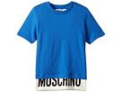 Moschino Kids Short Sleeve T-Shirt w/ Logo Hem (Little Kids/Big Kids)