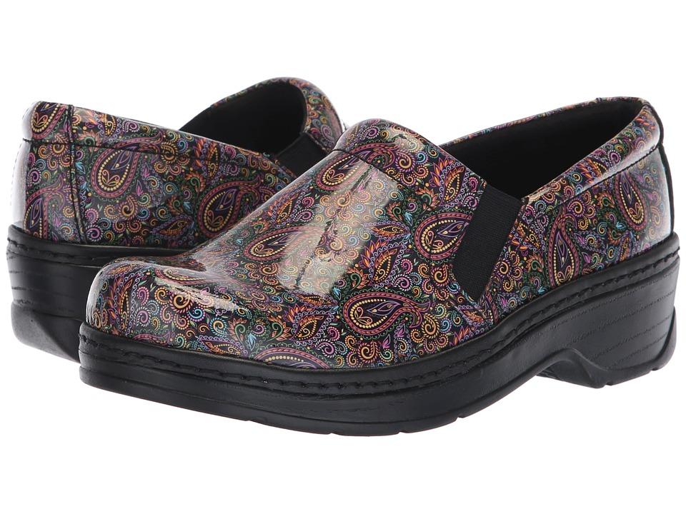 Klogs Footwear Naples (Paisley Patent) Clogs