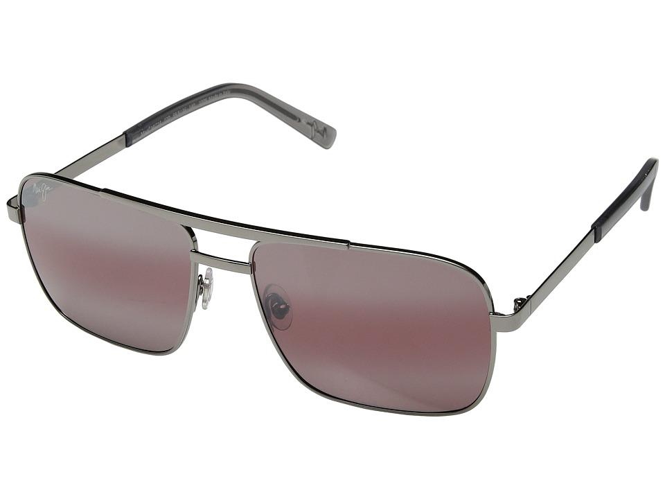 Maui Jim - Compass (Gunmetal/Maui Rose) Sport Sunglasses