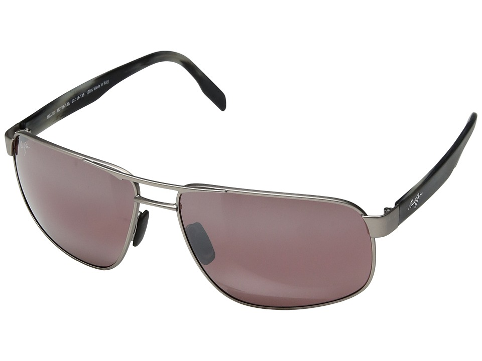 Maui Jim Whitehaven (Satin Grey/Maui Rose) Sport Sunglasses