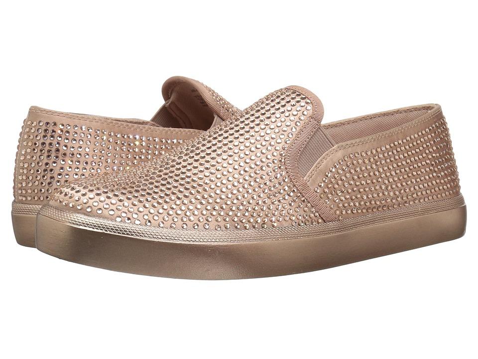 Jessica Simpson Dinellia 3 (Nude Blush Crytal Satin) Women's Shoes