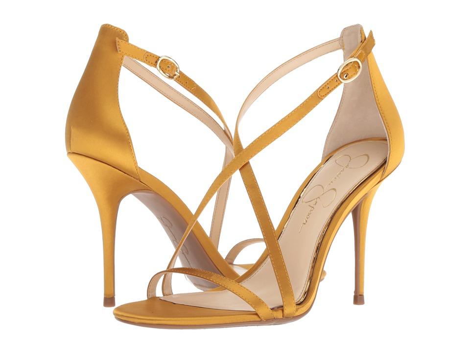 Jessica Simpson Aisha (Merigold Crytal Satin) Women's Shoes