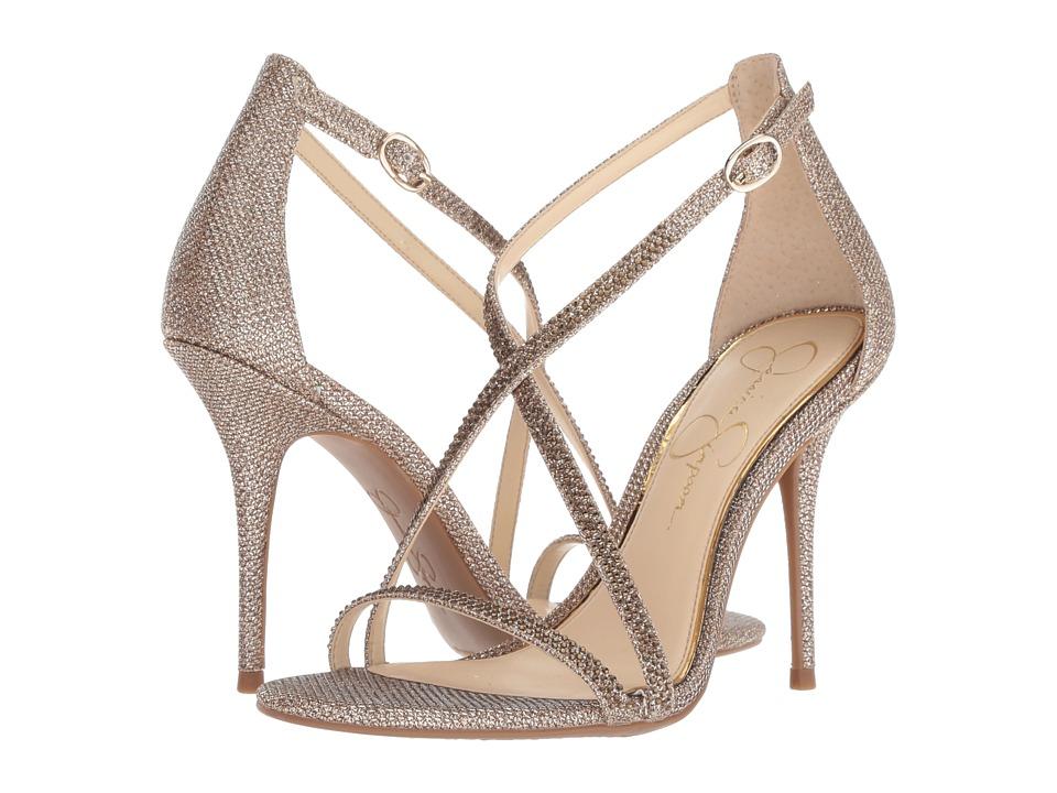 Jessica Simpson Annalesse (Gold Sparkle Mesh) Women's Shoes