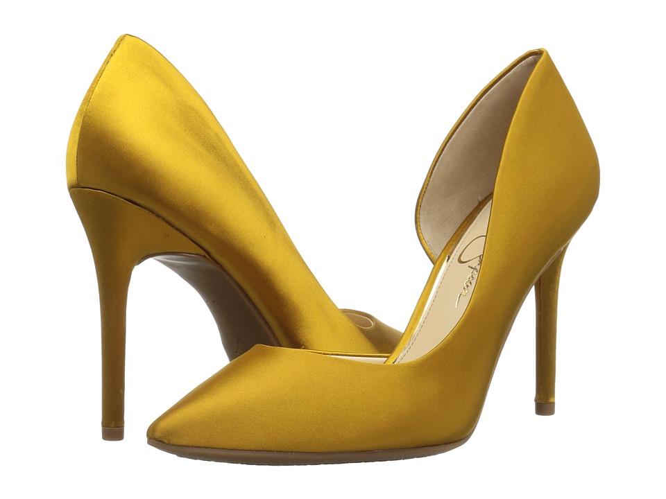 Jessica Simpson Lucina (Merigold Crytal Satin) Women's Shoes