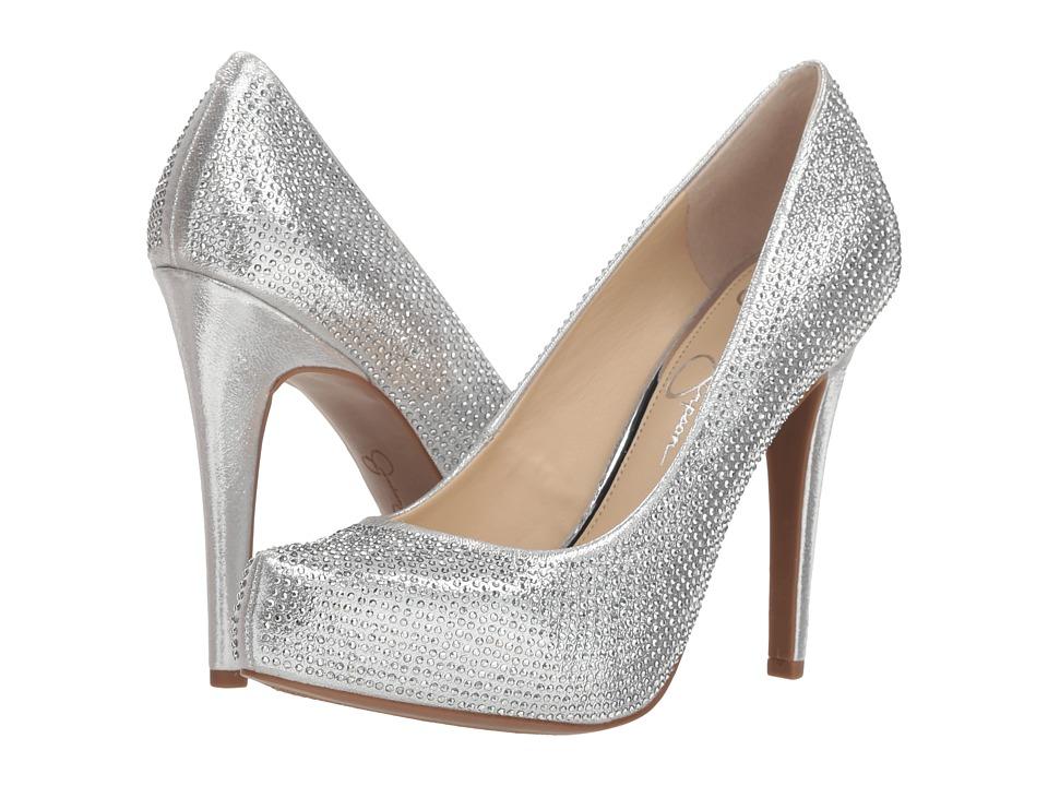 Jessica Simpson Parisah 2 (Platinum Shimmer Sand) Women's Shoes