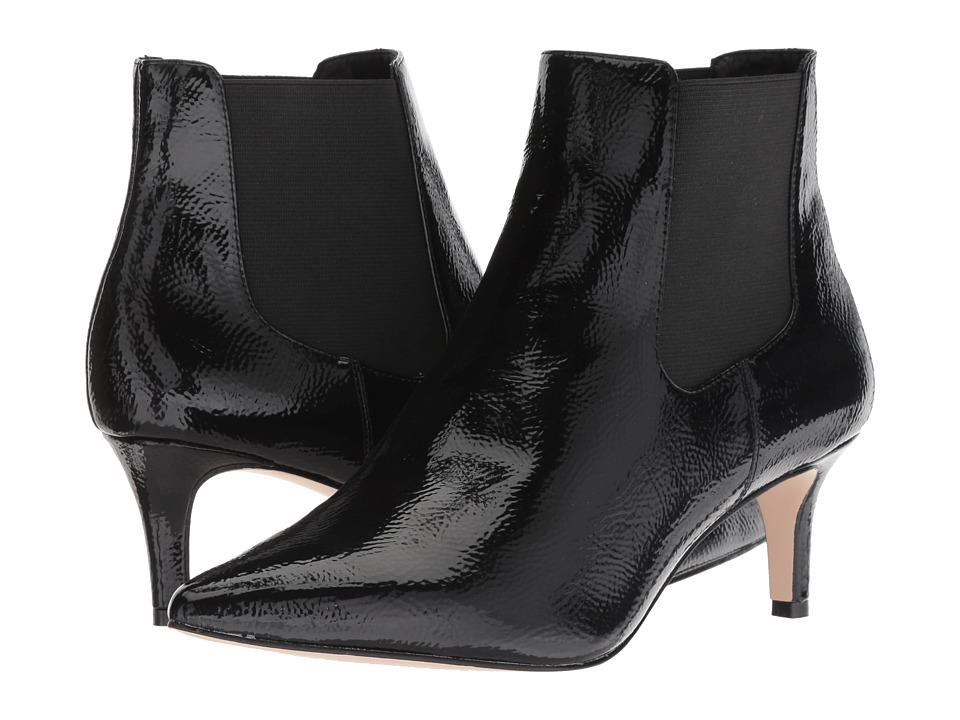 Jessica Simpson Radeline (Black Crinkle Patent) Women's Shoes