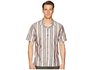 Todd Snyder Short Sleeve Wide Stripe Shirt