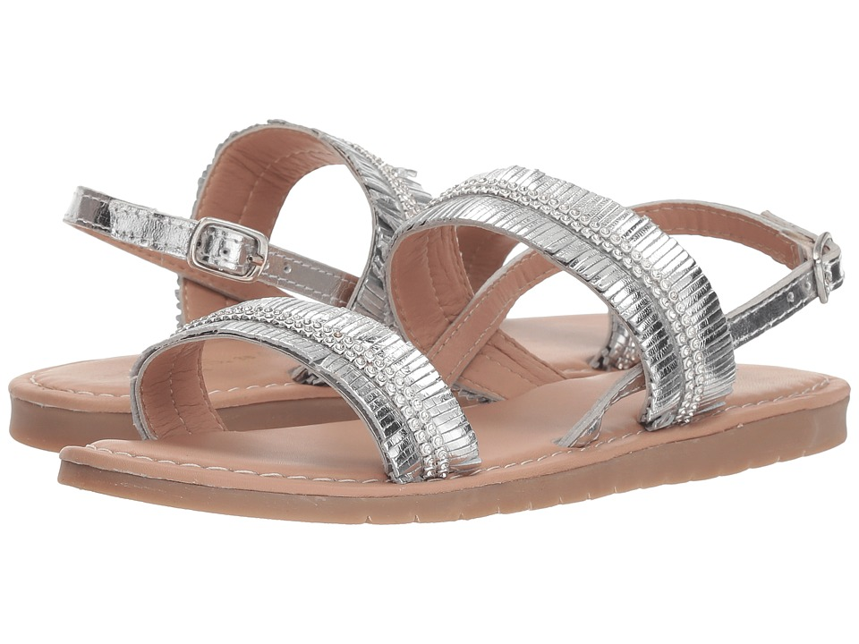 Conguitos - IV559630 (Little Kid/Big Kid) (Silver) Girls Shoes