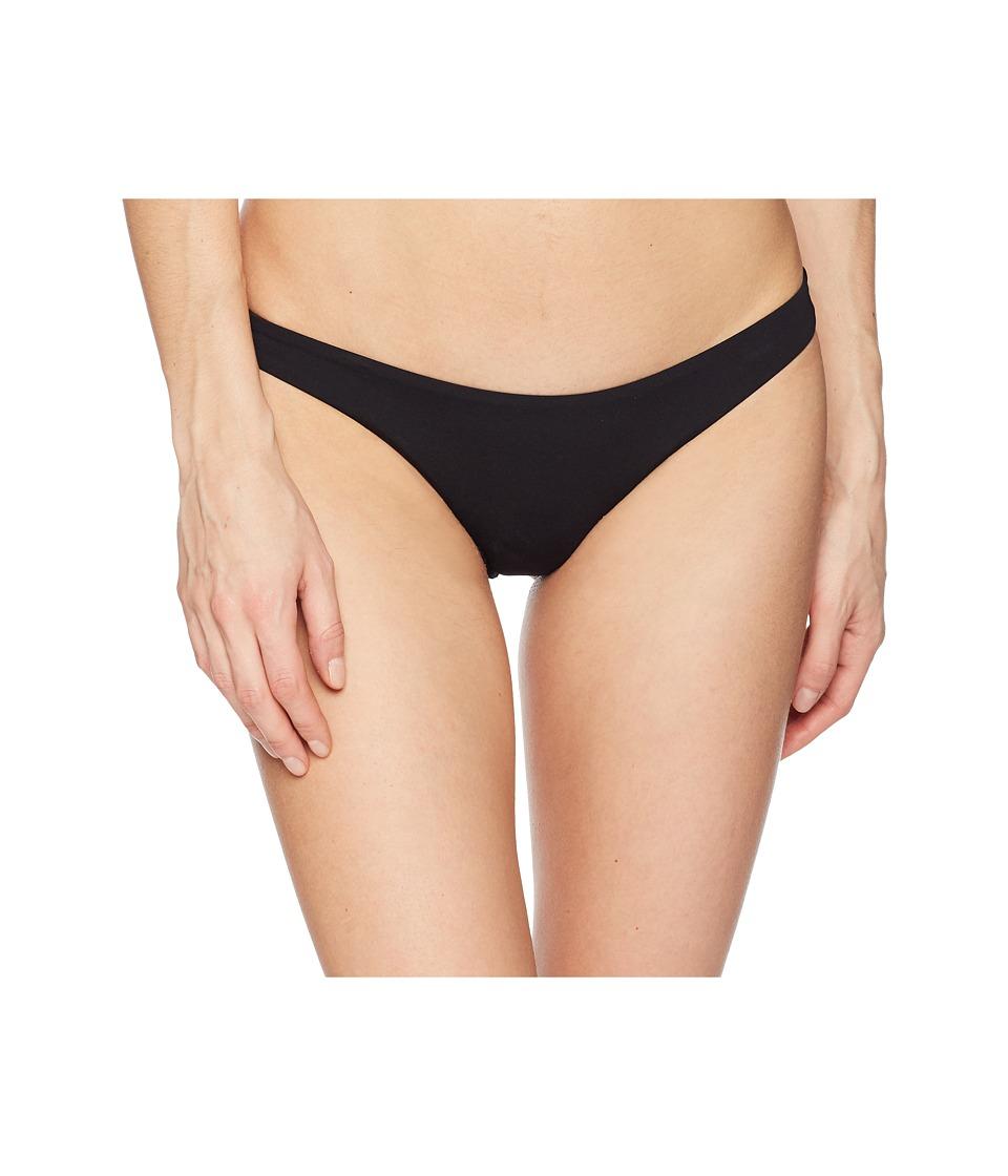 Billabong - Sol Searcher Tonga Bikini Bottom (Black Pebble) Womens Swimwear