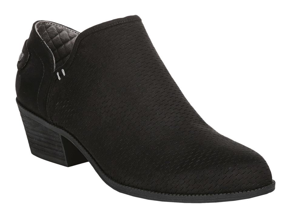 Dr. Scholl's Better (Black Microfiber Perf) Women's Shoes
