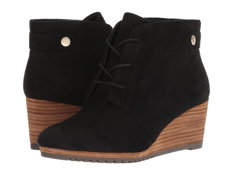 Dr. Scholl's Conquer (Black Microfiber) Women's Shoes