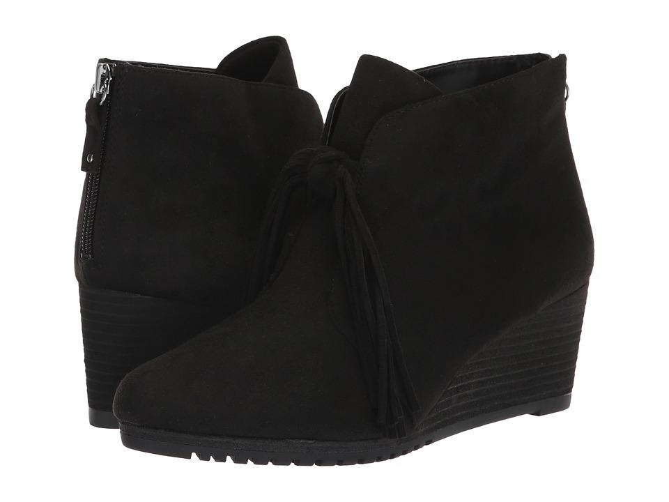 Dr. Scholl's Classify (Black Microfiber) Women's Shoes