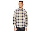 Scotch & Soda Regular Fit Classic Twill Shirt with Yarn-Dyed Check Pattern