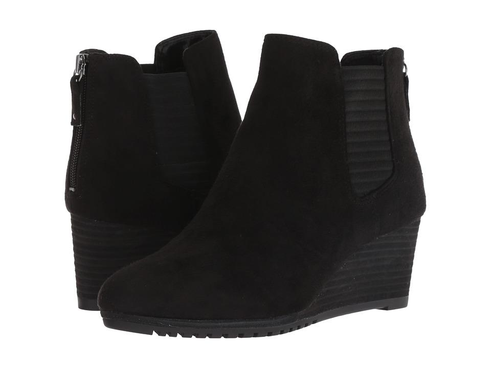 Dr. Scholl's Critic (Black Microfiber) Women's Shoes