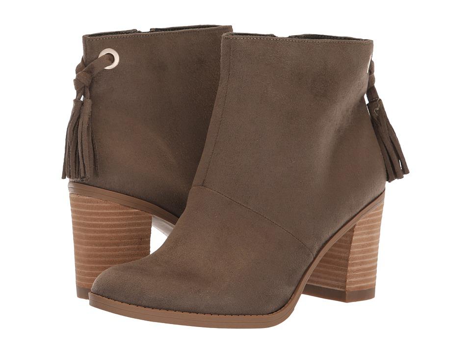 Dr. Scholl's Lewis (Olive Microfiber) Women's Shoes