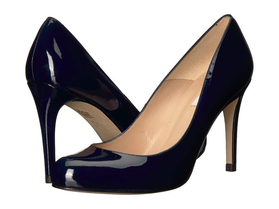 L.K. Bennett Stila (Blue Navy) High Heels