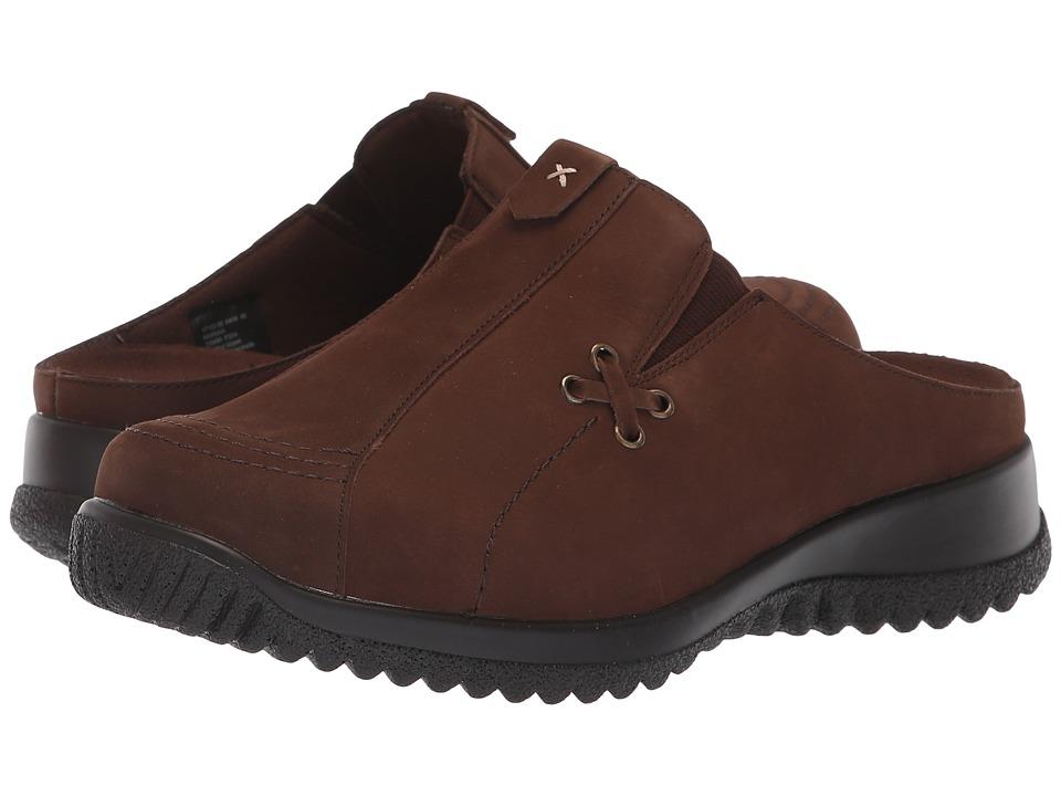 Drew Hannah (Brown Nubuck) Women's Shoes
