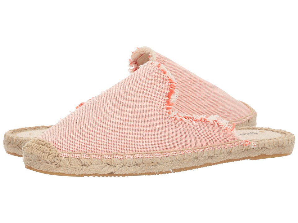 Soludos Frayed Mule (Sunset) Women's Clog/Mule Shoes