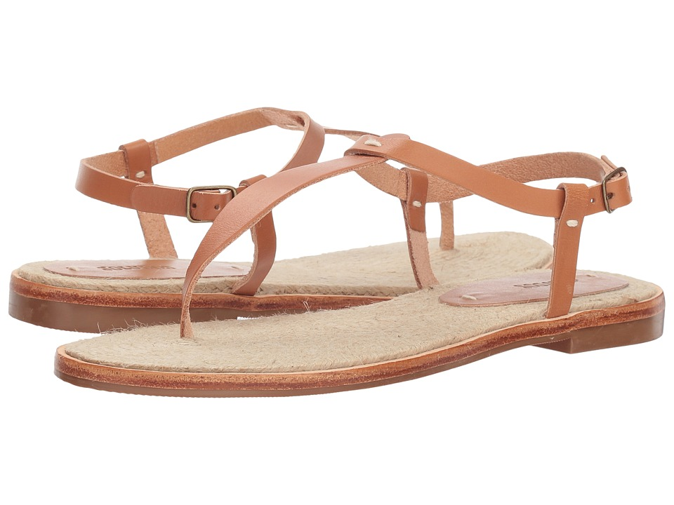Soludos Classic Leather Thong Sandal (Nude) Sandals