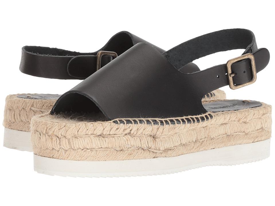 Soludos Tilda Leather Sandal (Black) Women's Sandals