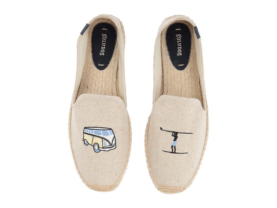 Soludos Surf Van Smoking Slipper (Sand) Men