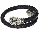 Alex and Ani Alex and Ani Anchor Braided Leather Wrap Bracelet