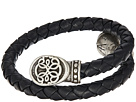 Alex and Ani Alex and Ani Path of Life Braided Leather Wrap Bracelet