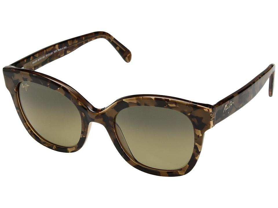 Maui Jim - Honey Girl (Caramel/HCL Bronze) Athletic Performance Sport Sunglasses