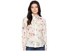 LAUREN Ralph Lauren LAUREN Ralph Lauren Petite Floral Cotton-Blend Shirt