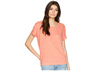 LAUREN Ralph Lauren LAUREN Ralph Lauren Lace-Up Striped Linen T-Shirt