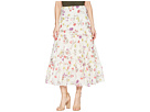 LAUREN Ralph Lauren LAUREN Ralph Lauren Tiered Cotton-Blend Skirt