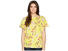 LAUREN Ralph Lauren LAUREN Ralph Lauren Floral Linen-Blend Top