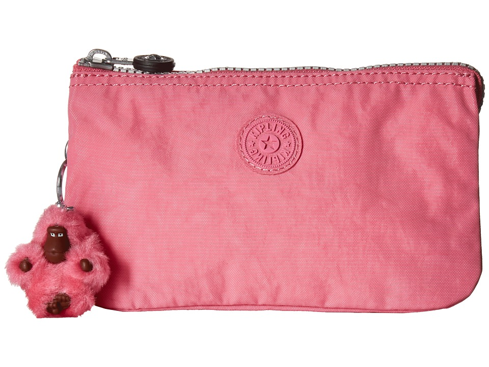 Kipling - Creativity Large Pouch (Pink Macaron) Clutch Handbags