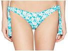 MICHAEL Michael Kors Carnations Side Tie Bikini Bottom w/ 3D Flower