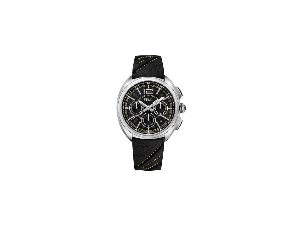 Fendi Timepieces - Momento Fendi 46mm - F230011011 (Silver/Black) Watches